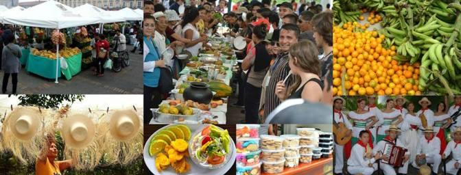 Festival campesino en la Zona Cero